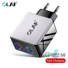 48W Quick Charge 4.0 3.0 Multi USB Charger QC3.0 Fast Travel Wall Mobile Phone for iPhone Samsung Xiaomi Huawei