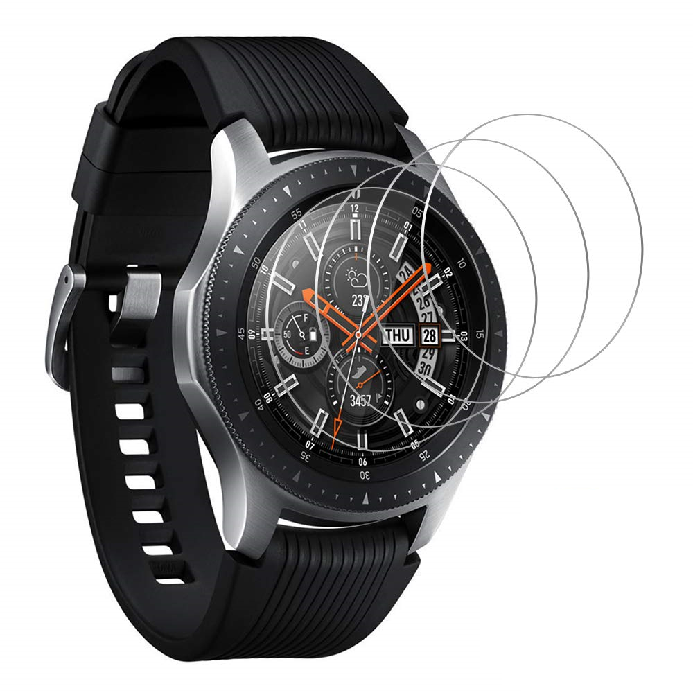 3Pcs Glass Sansung 46 42 Mm Watch Band Tempered Glass Protector For Samsung Galaxy Watch 46mm 42mm Protective Screen Guard Film