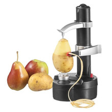 Home Kitchen Multifunction Stainless Steel Electric Peeler Automatic Fruit VegetablesTwo Spare Blades Potato Peeling Machine