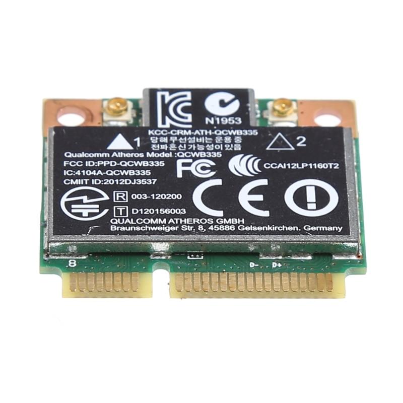 Bluetooth 4.0 Wifi Wireless Mini PCI-E Card For HP QCWB335 AR9565 SPS 733476-001