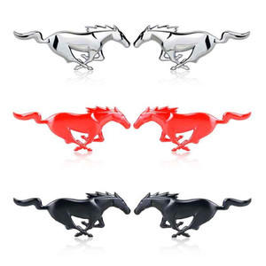 Image 3 - חדש 3D מתכת מדבקת מוסטנג רכב חלון פגוש גוף מדבקת תג סמל מדבקות סוס מדבקת עבור פרארי תג סמל סטיילינג