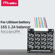 بطارية ليثيوم أيون 16s BMS Lifepo4 ، موازن نشط ، لوحة نقل الطاقة ، حزمة pcm