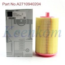 1pc Car Parts Engine Air Filter A2710940204 For Mercedes C-CLASS C200 C220 C32AMG CL203 W203 W204 S203 A209 C209 W211 S211 R171