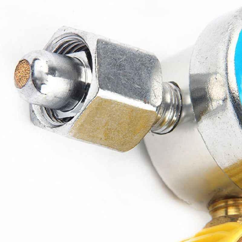 """Argon CO2 pression réducteur G5/8 """"0-25Mpa Tig débitmètre de soudage régulateur jauge Absorption des chocs soudeur gaz débitmètre"""