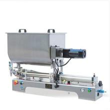 Multipurpose stirred paste filling machine piston type pneumatic quantitative filling machine