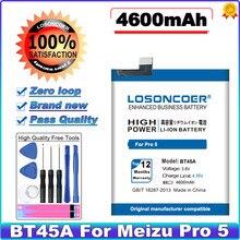 Losoncoer 4600 mah bt45a bateria para meizu pro 5 bateria + ferramentas gratuitas