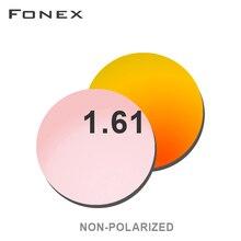 Lunettes de soleil pour myopie, verres Non polarisés, Prescription, 1.56, résine, lentilles asphériques, lentilles de revêtement, lentilles pour myopie, 1.61 1.67( 0.50 ~ 8.00)