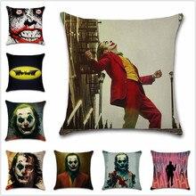 Batmans enemy Joker Movie comic cushion Cover Decoration Home sofa chair seat children bedroom gift friend present pillowcase