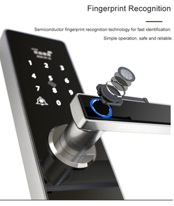 Image 5 - Tuya Wifi Door Lock With Fechadura Digital, Smart Door Lock with Remotely Control, Fingerprint ,Password ,RFID Card Lock