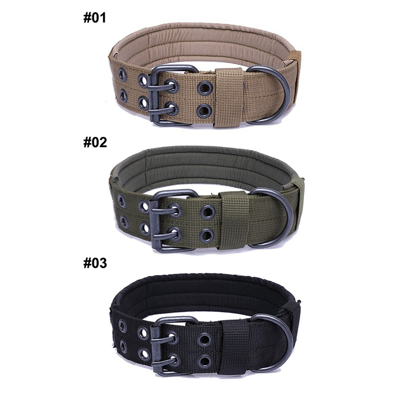 Outdoor Walking Training Tool Adjustable Pet Collar Dog Durable Nylon Neck Supplies Medium Large Dog Tactics