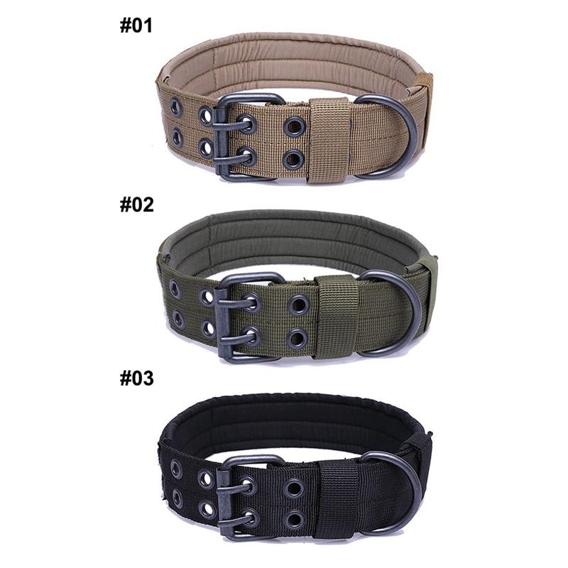 Outdoor Walking Training Tool Adjustable Pet Collar Dog Durable Nylon Neck Supplies Medium Large Dog Tactics