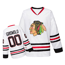 Hockey-Jersey Street-Shirt Clark-Griswold Christmas Men -00 Stitched Embroidery Vacation