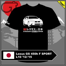 T-shirt Lexus GS 450 h F SPORT L10 12-15(China)