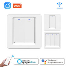 Wifi Switch Smart 220v Home Remote Wireless Light Module Work Alexa Google Tuya Life wifi control