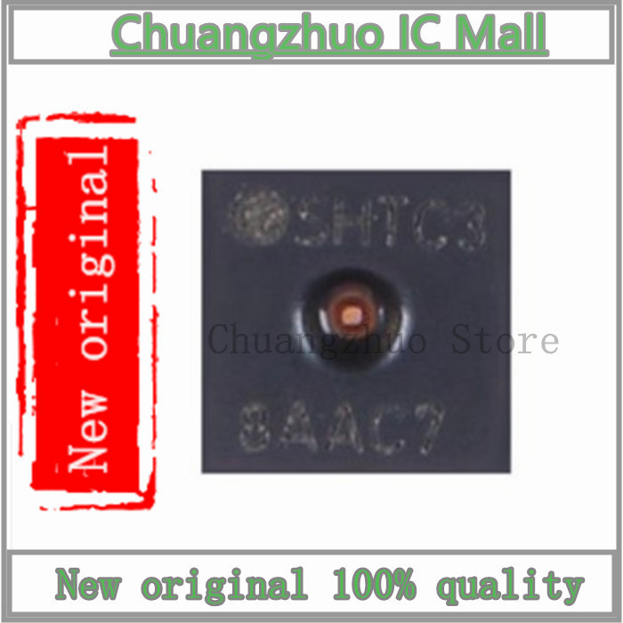 10PCS/lot SHTC3 DFN-4 Genuine Original Digital Temperature And Humidity Sensor  SMD IC Chip New Original
