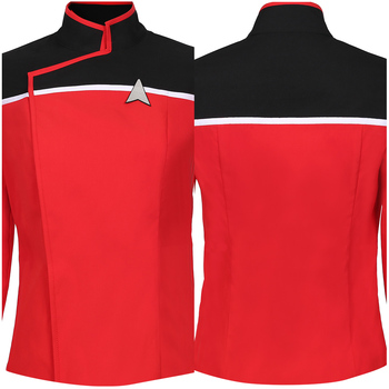 Star Cosplay Trek Lower Decks Season 1 Cosplay Costume Coat Female Women Uniform Suit Halloween Costumes 1