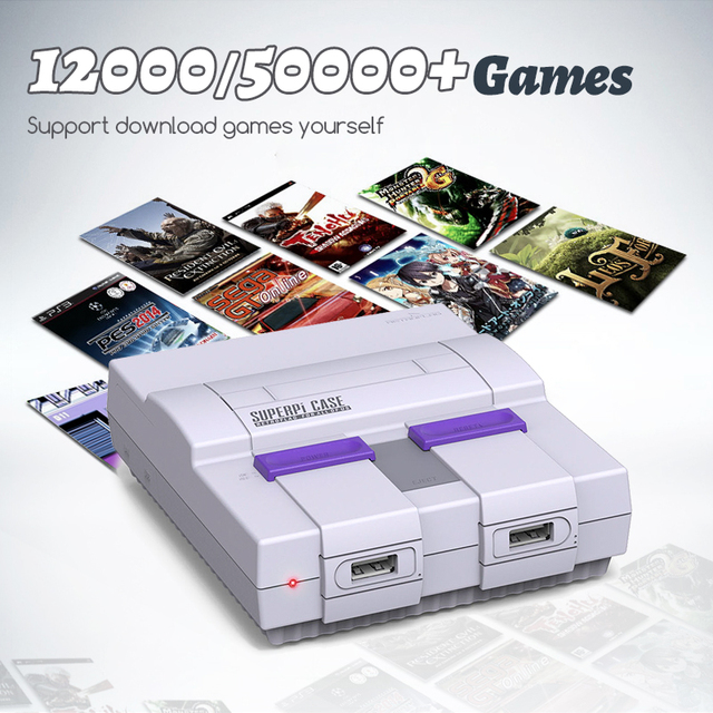 HDMI Out Family Recreation Mini Video Game Console For PS1/MAME/SNES/MEGA Built-in 50000 Retro Games With 42 Emulators 4