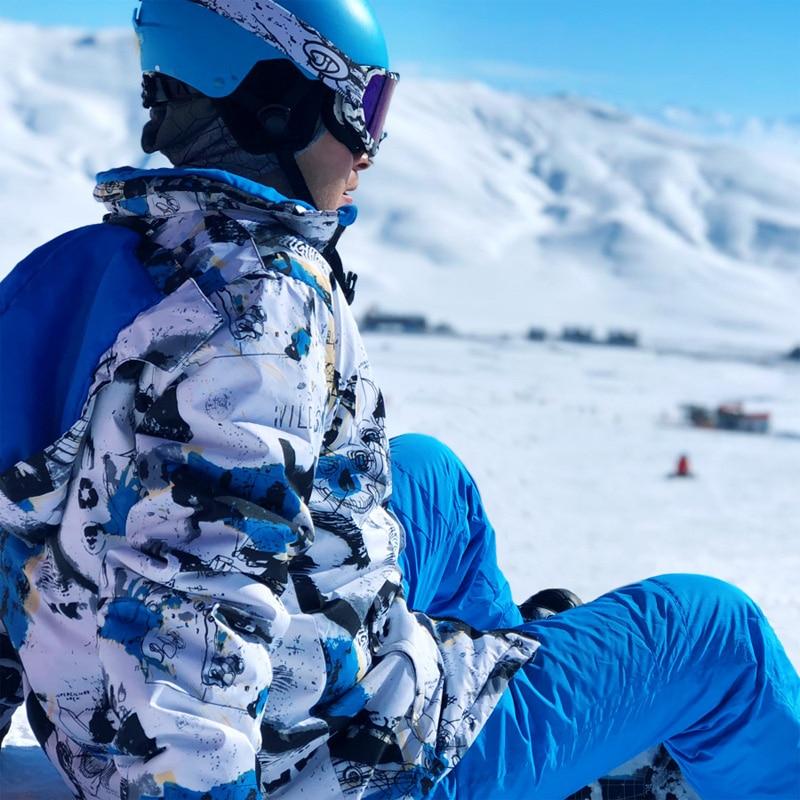 2019 nouveaux hommes Ski Hoodies veste marques imperméable respirant homme neige veste randonnée hiver vestes Ski et Snowboard vêtements