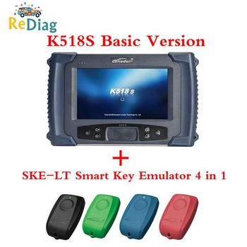 Lonsdor K518S Auto Key Programmer For All Makes 4th&5th immo Basic Version For All Makes Free For BMW FEM/EDC of SKP1000