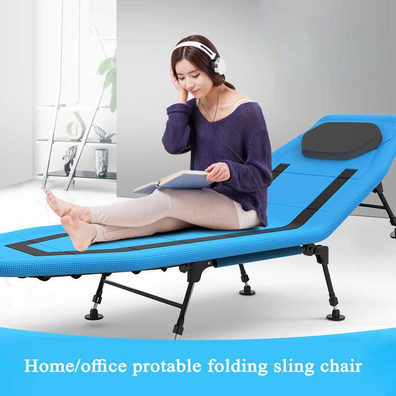 Открытый складной регулируемый стул кровать многофункциональный один Nap лагерь офис Простой Взрослый кресло домашний диван гостиная металлический диван