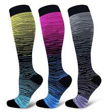 Новинка 2020 мужские женские Компрессионные носки спортивные