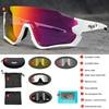 Polarizado óculos de ciclismo homem esporte óculos de sol photochromic uv400 5 lente deportivas polarizadas hombre gafas oculos ciclismo 17