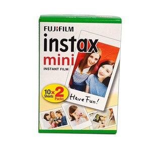 Image 4 - Fujifilm Instax papel fotográfico para cámara instantánea Polaroid FUJI Instax Mini LiPlay 11 9 8 7s 70 90, 3 pulgadas, borde blanco