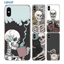 Cool Skull Riverdale Fundas Silicone Phone Back Case For Apple iPhone 11 Pro 6 6S 7 8 Plus + X 10 Ten XS MAX XR 5 5S SE Cover(China)