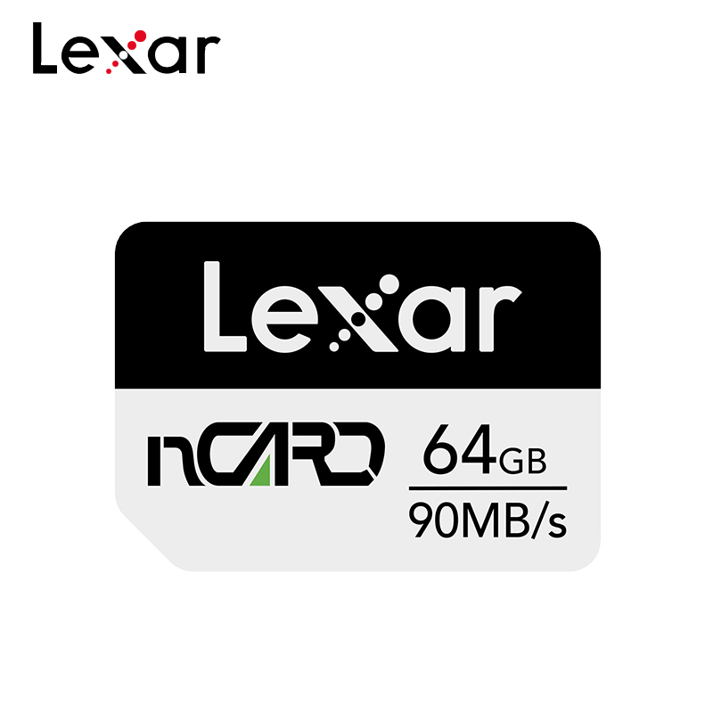 New Arrival Lexar Nano Memory Card NCARD 64GB 128GB 256GB High Speed Max 90MB/s NM Card For Huawei MatePad Pro/Mate 20/P30