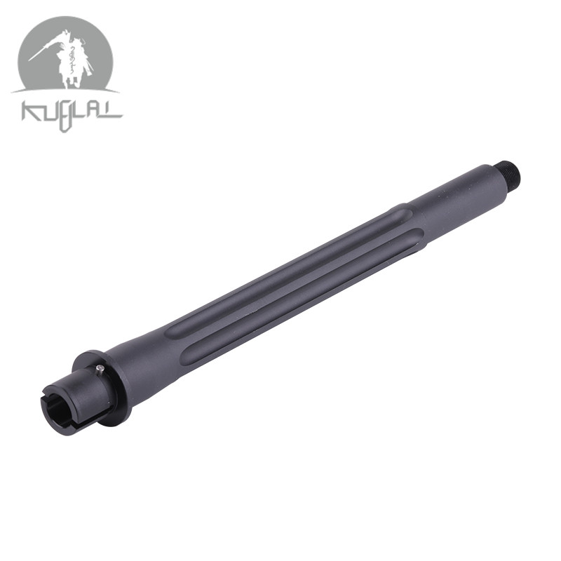 MK18 Aluminum Outer Tube Mk18  9 Inch Metal Black Toy For Gel Blaster