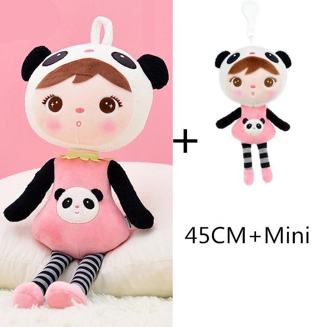 45cm + Mini Set Kawaii Plüsch Tier Cartoon Kind Mädchen Spielzeug Junge Plüsch Koala Panda Beschwichtigen Puppe Geburtstag Geschenk
