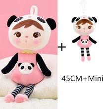 45cm + Mini ensemble Kawaii peluche Animal dessin animé enfant fille jouet garçon en peluche Koala Panda apaiser poupée cadeau d'anniversaire