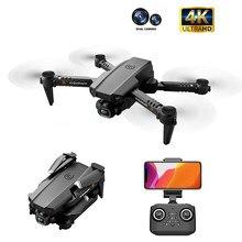 Dron XT6 con doble lente 4K, fotografía aérea de alta definición, flujo óptico, altura fija, juguetes de aviones teledirigidos, regalo gratis, 2020