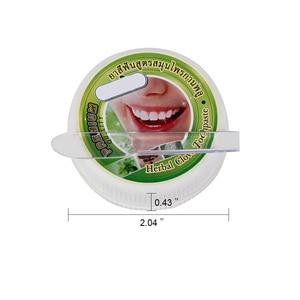 Image 5 - 10g/25g צמח מנטה הלבנת משחת שיניים טבעי צמחים שן שן להדביק משחת שינים להסיר כתם אנטיבקטריאלי אלרגי ג ל