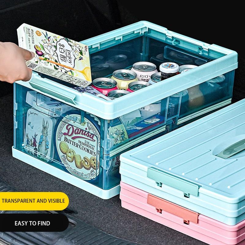 Складная автомобильная коробка для хранения багажника многофункциональная