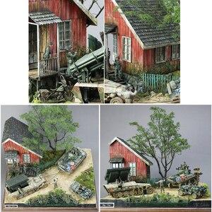 Image 3 - مقياس 1:35 ديوراماس العسكرية بناء نموذج مجموعات العمارة منزل المشهد