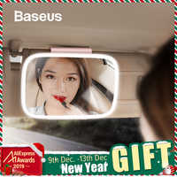 Baseus 8.3 Pollici Car Sun Visor Specchio Auto Specchio Per Il Trucco Cosmetico di Sole-ombreggiatura Specchi Con LED Luce Chargable