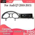 Android 10 Автомобильный мультимедийный DVD стерео радио плеер GPS навигация Carplay авто для AUDI Q7(2010-2015) 3G система 8u 2din