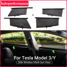 Model3 Tesla Car Sun Shade Window For Tesla Model 3 Accessories SunShade Drape Roller