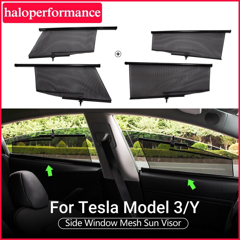 Model3 Tesla voiture pare-soleil fenêtre pour Tesla modèle 3 accessoires parasol drapé rouleau modèle 3 tesla modèle y modèle trois 2020 nouveau