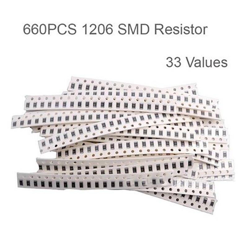 Set of 100 Pieces 43K Ohm SMD SMT Surface Mount Chip Resistor 0603 5/%