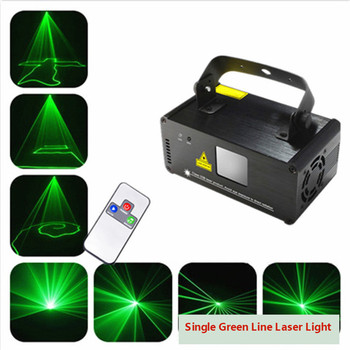Remote G50 Green Laser Projector Professional Stage Lighting Effect DMX 512 Scanner DJ Disco Party Show Lights for christmas alien remote dmx512 200mw rgy laser stage lighting scanner effect dance dj disco party show light xmas projector lights