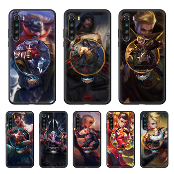 LOL League Joint Legends Game Phone case For Xiaomi Redmi Note 8T 8 9 7 7A 8 8A 4 5 9S Pro black shell luxury bumper fashion image