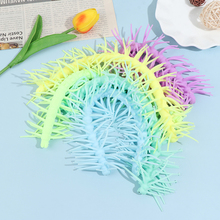1Pcs Long Colorful Centipede Pull Stretch Caterpillar Decompression Children Toy