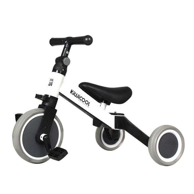 Kiwicool nouveau Design transformer tricycle multi-fonction enfants scooter balance vélo pour 75-100cm bébé bambins enfants