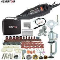 180 w elétrica dremel gravura mini broca máquina de polimento velocidade variável ferramenta rotativa com ferramentas elétricas acessórios