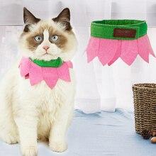 Ошейник для собак для домашних кошек, ошейники для домашних животных, ошейники для домашних животных, ошейник с милыми цветами для маленьких собак