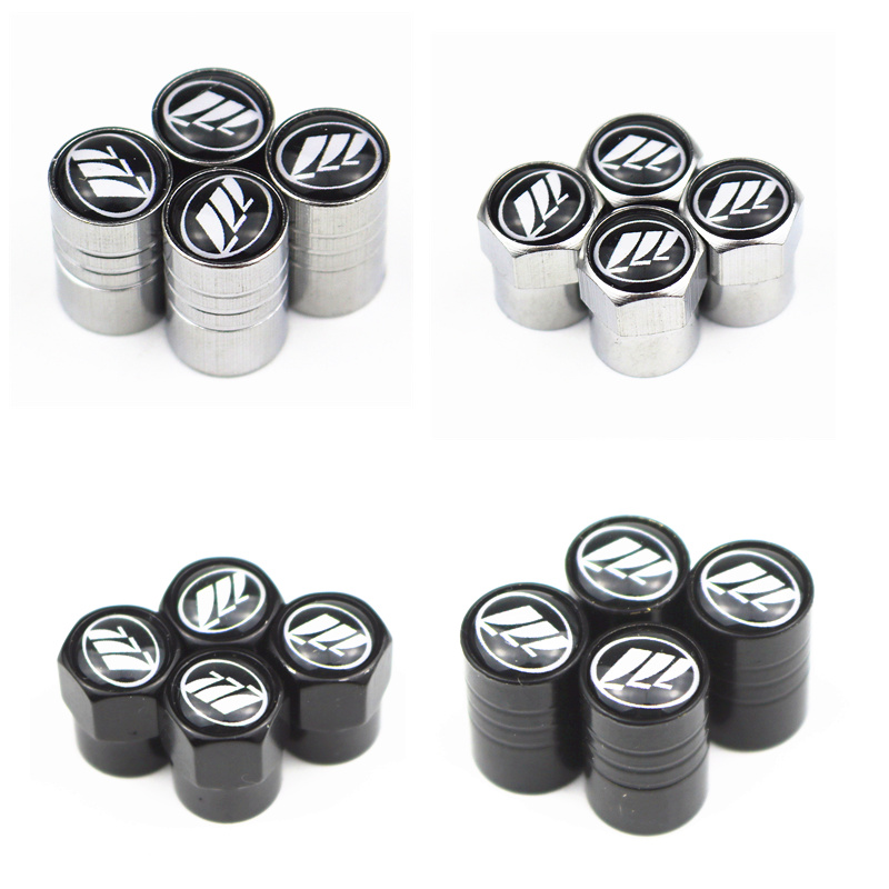 4pcs Car Wheel Tire Valves Tyre Air Caps Case For Lifan Solano X60 X50 520 620 320 Motorcycle Automobiles