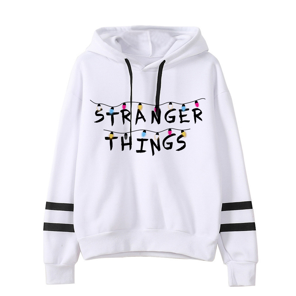 Stranger Things Hoodies For Women Hoodie Kpop Sweatshirt Kawaii Korean Style Voersized Hoodies Woman Clothes