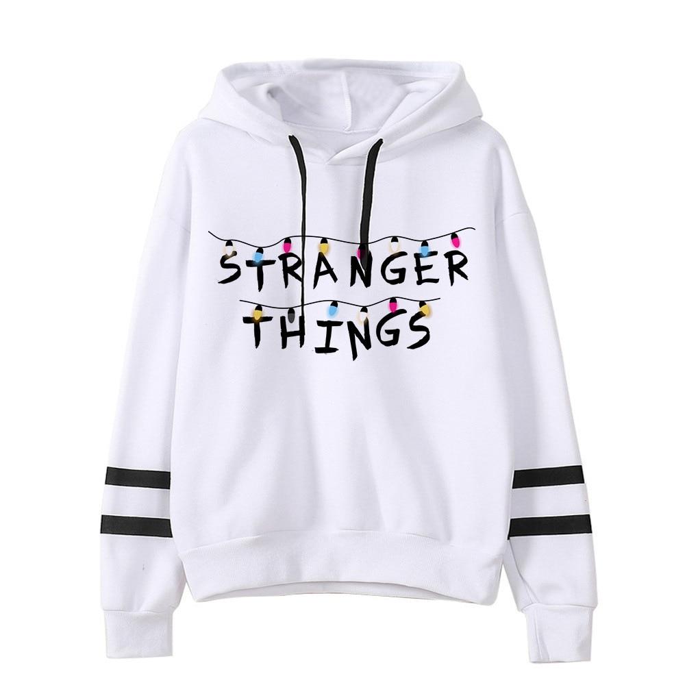 Stranger Things Hoodies For Women Hoodie Kpop Sweatshirt Kawaii Korean Style Voersized Hoodies Woman Clothes